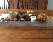 Reclaimed Wood Box - Crate- Centerpiece