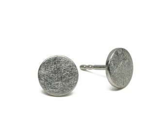 Stud Earring  The Dot, Silver 925, dots, simple round ear Studs geometric Circle
