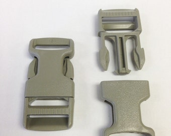 "1"" GTsr Buckle (Color: Clay) - Made in USA"
