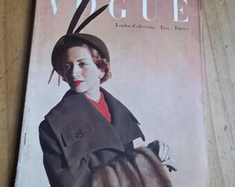Vogue September 1949 Issue
