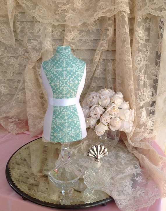 Mannequin Dress Form Jewelry Display Pincushion By