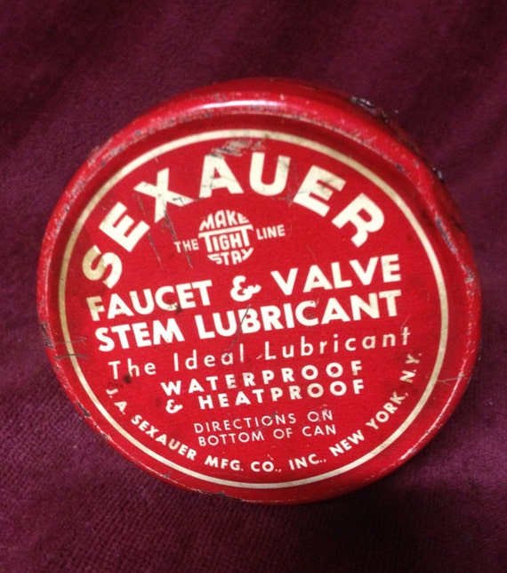 Vintage Sexauer Lubricant Can
