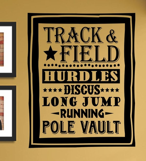 Discus Track And Field Slap Art Track Amp Field