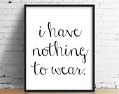 Funny Quote Print, Minimal print, Typography Print, Black and White Print, Bedroom Print, Funny Print, Modern Home Print, Bedroom Wall Art