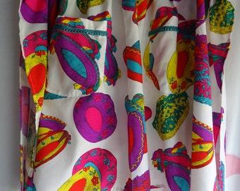 Handmade Sombrero print apron