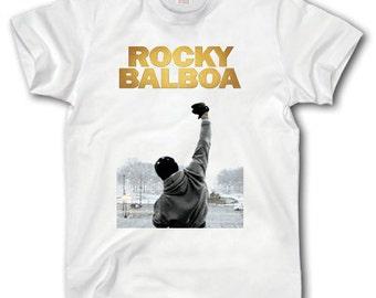 popular items for rocky balboa shirt on etsy. Black Bedroom Furniture Sets. Home Design Ideas