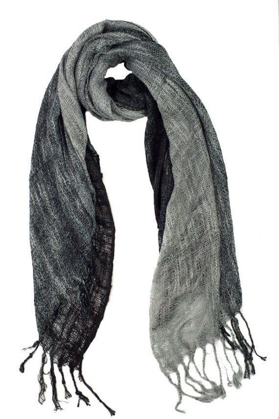 A chic alternative to a scarf or cravat this ingenious accessory is a cross between the two. Made from the best Italian cashmere it is the ideal winter neck warmer. Double faced for extra warmth, with black on one side and grey on the other, it is luxuriously thick and sits comfortably in cuttackfirstboutique.cf: $