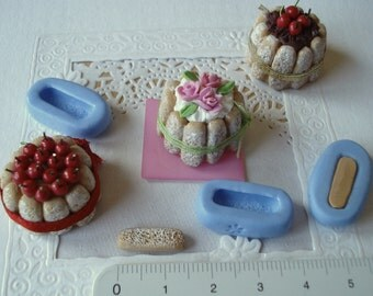 Small silicone mould to make your cakes CHARLOTTES