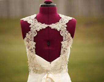 Wedding dress embellishment - Hera ( made to order)