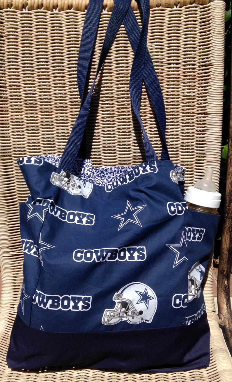 Cowboy Diaper Bags : Dallas cowboys diaper bag daddy tote purse