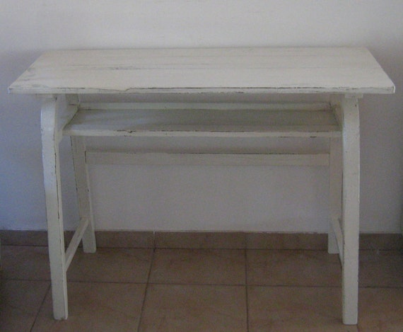 items similar to vintage entry table hallway table