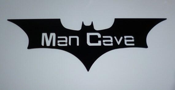 Batman man cave sign