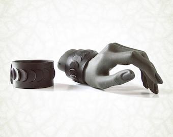 Branchie (Gills) - leather bracelet