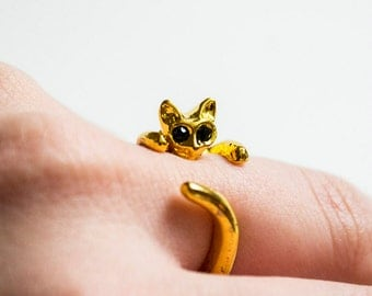 Cat Ring Goldem