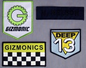 MST3K Gizmonic Deep 13 SOL Iron-On Patch Set (4) - Mystery Science Theater 3000