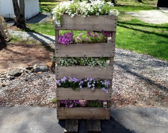Reclaimed Pallet Planter Boxes