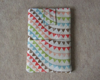 "Kindle Fire HD 7"" Case, Tablet Case, Cover, Sleeve, Colorful Bunting"