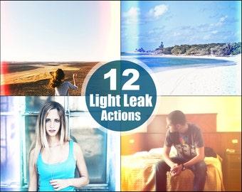 Light Leak Retro Photoshop Elements Actions