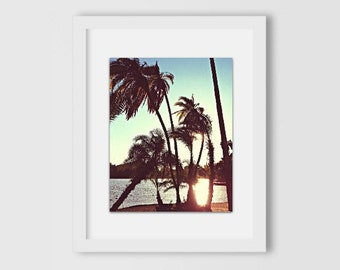 Isle of Palms Sunset Print | Nature Photography | Home Decor | Home & Office | Gift Under 30