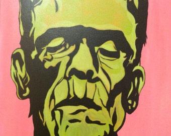 Frank an Original Painting