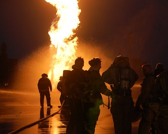 Fire Fighter Photography