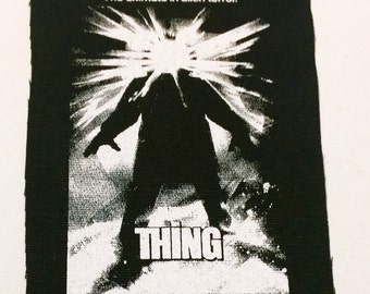THE THING patch punk horror alien  Free Shipping