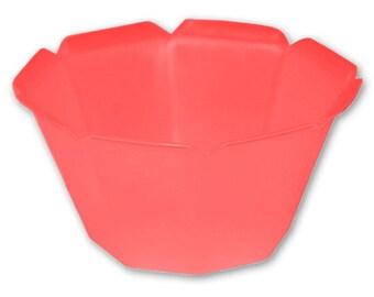 50 6.8 oz Plastic Gelato / Ice Cream Cups