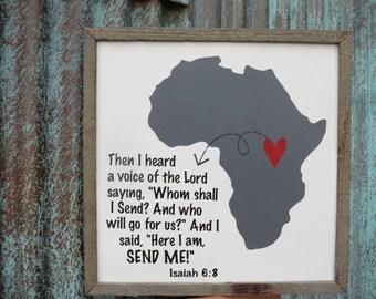 I Love Africa - Isaiah 6:8