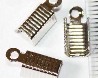 12 pcs Stainless Cord Ends, 12 mm ,Lead, Nickel & Cadmium Free Jewelry Findings, metal findings