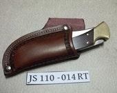 Custom leather knife Sheath  JS110-014RT