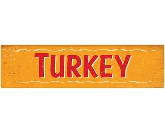 Turkey Southern BBQ Barbecue Wall Decal #44131