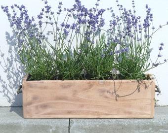Rustic Herb Garden Planter
