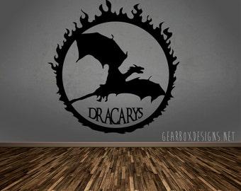 Game Of Thrones - Dracarys - Vinyl Decal