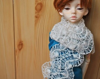 Openwork scarf for BJD