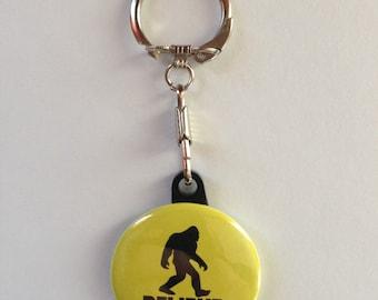 Bigfoot Keychain Handmade Sasquatch keychain, Sasquatch, Bigfoot gifts, Bigfoot, Funny Keychains