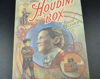 The Houdini Box by Brian Selznick 1991 1st Edition