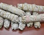 White Sage Bundle - Large or Medium or Small - California grown