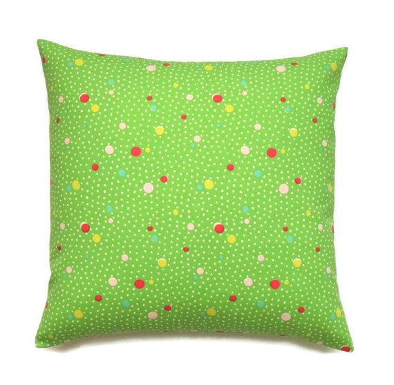 Green Pillow 16x16 Pillow Cover Decorative Pillows Couch