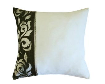 Light grey Decorative Throw Pillow Covers Couch Pillow 12x18