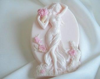Belle La Femme - Mothers Day Gift Soap - Shea Butter Soap - Decorative Soap - Vegan Soap