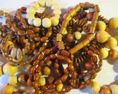 Big Stash of Wood Beads