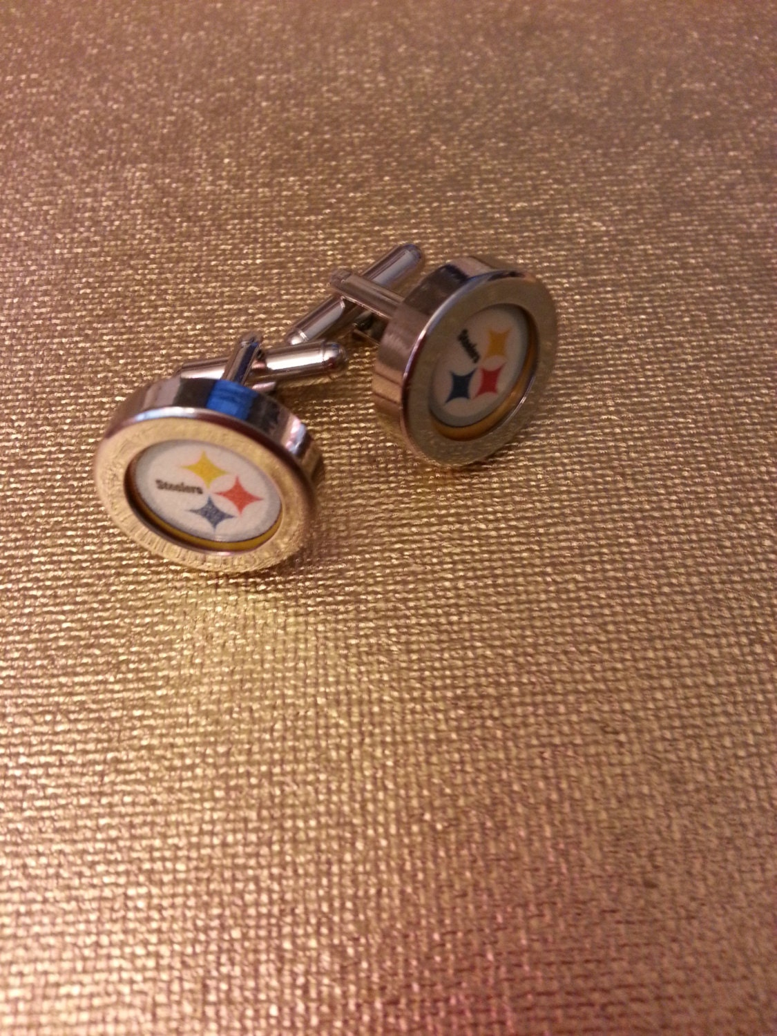 NFL Cufflinks by MarciGifts on Etsy