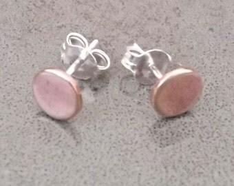 Mini rose post earrings - Petit rien studs