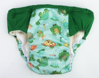 waterproof Overnight heavy wetters potty training pant. Eco friendly cloth pull up, training nappies