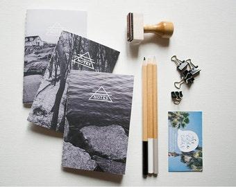 The Little Talks Jotter Pack - Handbound Jotter, Notebook, Journal, Photography