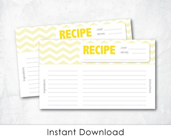 Cute Recipe Cards | www.imgkid.com - The Image Kid Has It!