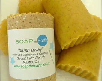 Calming face Soap with Sea Buckthorn