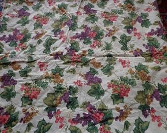 Handmade 80's Christmas Table Cloth
