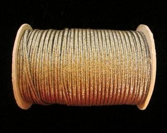 """104.2 Soutache - antique-gold 3/16"""" (4.5mm)"""
