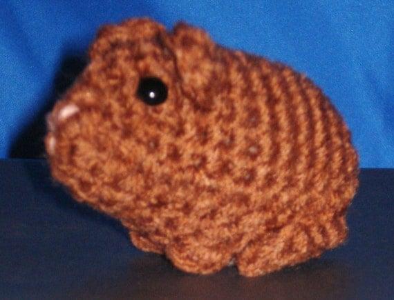 Amigurumi Baby Guinea Pig : Amigurumi Baby Guinea Pig 160C
